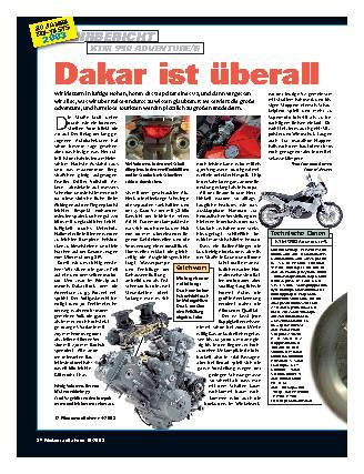Dakar ist überall