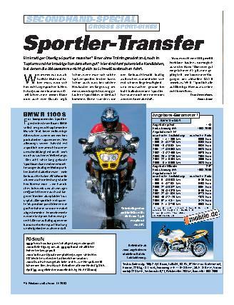 Sportler-Transfer