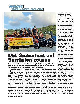 Mit Sicherheit auf Sardinien touren