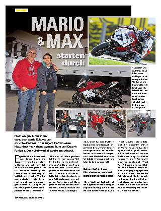 MARIO & MAX starten durch