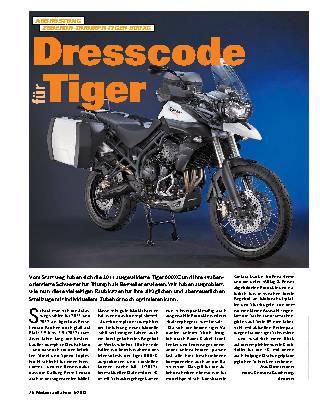 Dresscode für Tiger