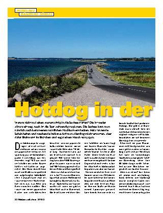 Hotdog in der Südsee
