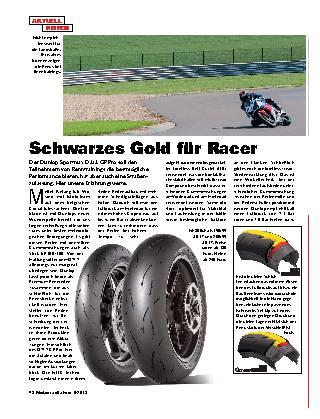 Schwarzes Gold für Racer