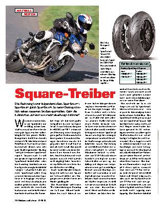 Square-Treiber