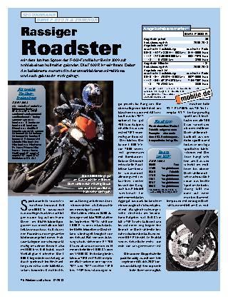 Rassiger Roadster