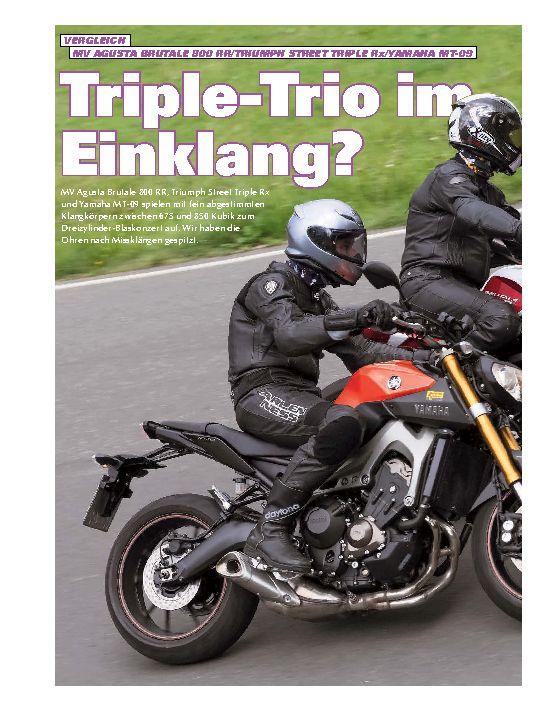 Triple-Trio im Einklang?