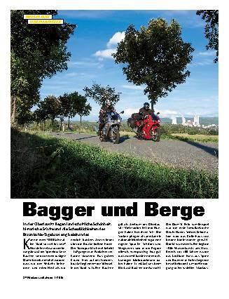 Bagger und Berge