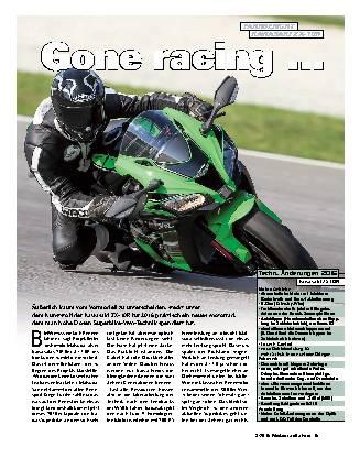 Gone racing ...