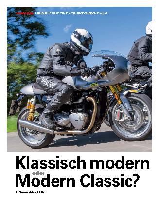 Klassisch modern oder Modern Classic?