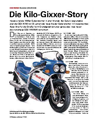 Die Kilo-Gixxer-Story