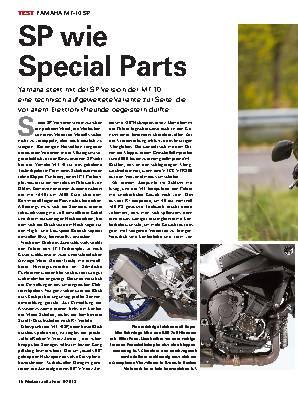 SP wie Special Parts