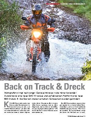 Back on Track & Dreck