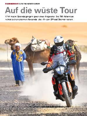 Auf die wüste Tour