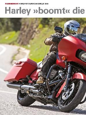 Harley »boomt« die Tourer