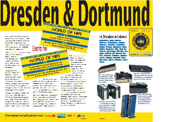 Dresden & Dortmund