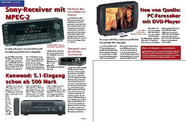 Sony-Receiver mit MPEG-2