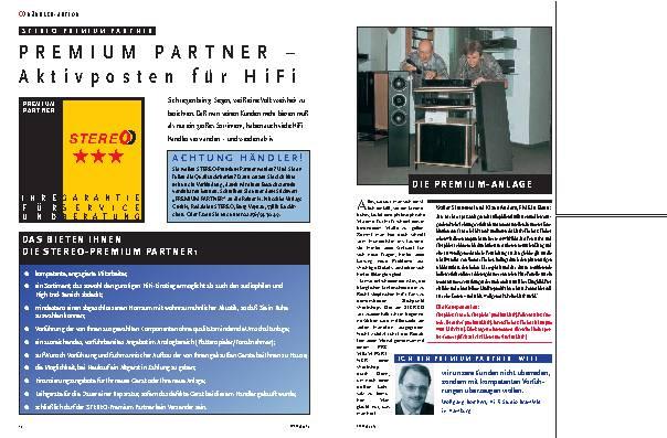 Premium Partner – Aktivposten für HiFi