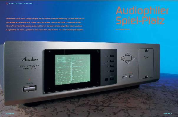 Audiophiler Spielplatz