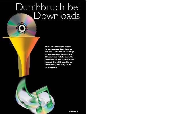 Durchbruch bei Downloads