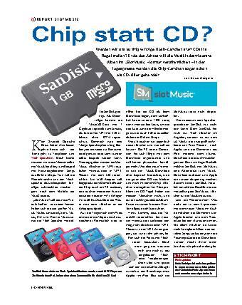 Chip statt CD?