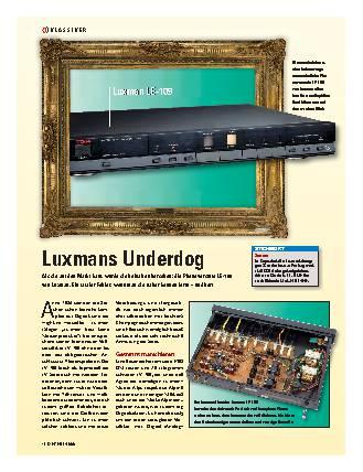 Luxmans Underdog