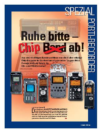 Ruhe bitte - Chip-Band ab