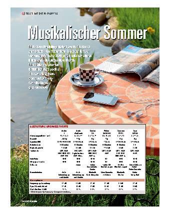 Musikalischer Sommer