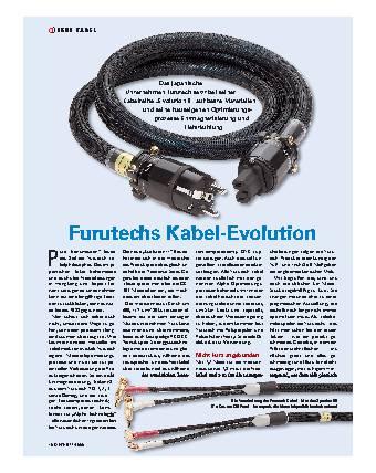Furutechs Kabel-Evolution