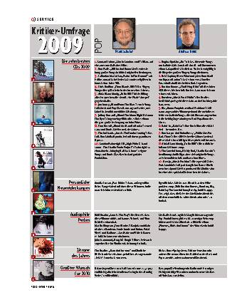 Kritiker-Umfrage 2009