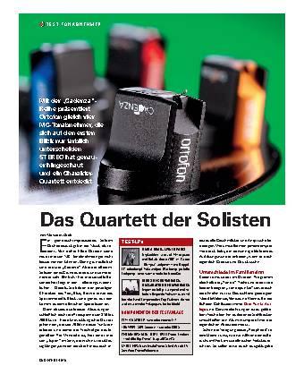 Das Quartett der Solisten