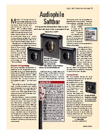 Audiophile Saftbar