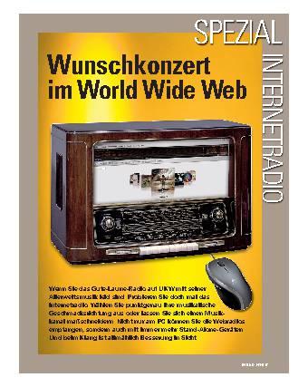 Wunschkonzert im World Wide Web