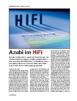Azubi im HiFi