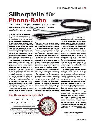 Silberpfeile für Phono-Bahn