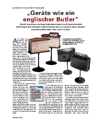 Geräte wie ein englischer Butler