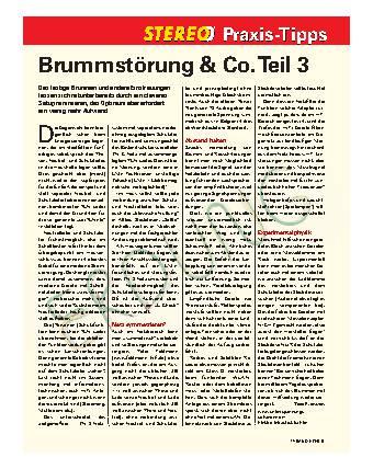 Brummstörung & Co.Teil 3
