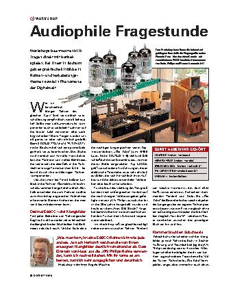Audiophile Fragestunde