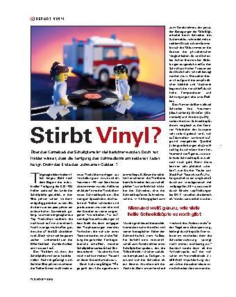 Stirbt Vinyl?