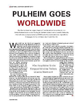 Pulheim goes Worldwide