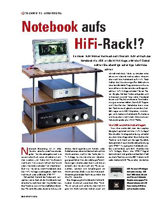 Notebook aufs HiFi-Rack!?