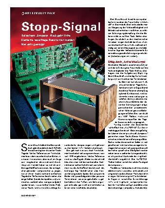 Stopp-Signal