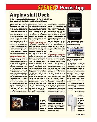 Airplay statt Dock