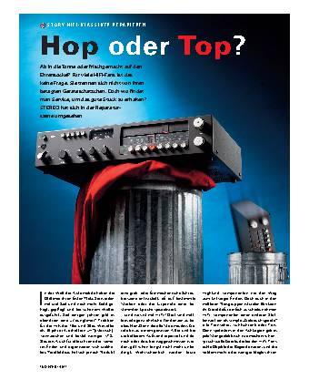 Hop oder Top?