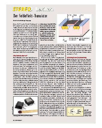 Der Feldeffekt-Transistor