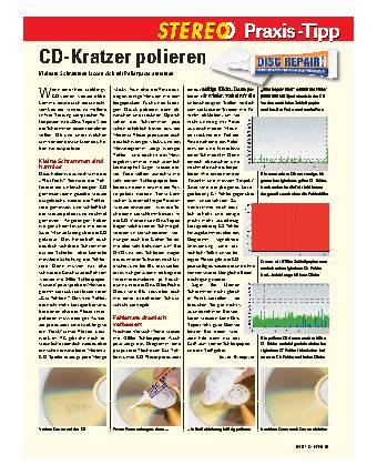 CD-Kratzer polieren
