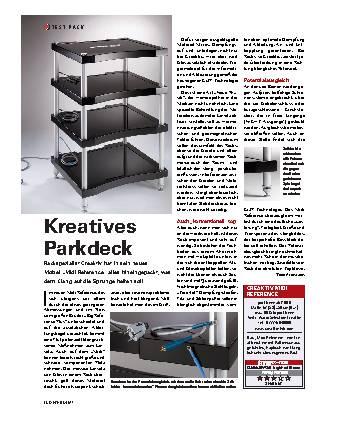 Kreatives Parkdeck