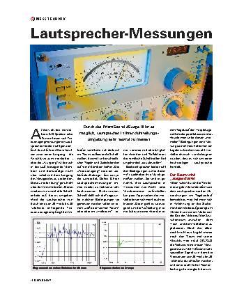 Lautsprecher-Messungen