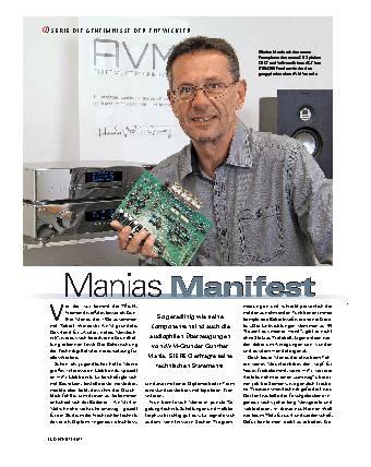 Manias Manifest