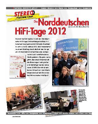 Die Norddeutschen HiFi-Tage 2012