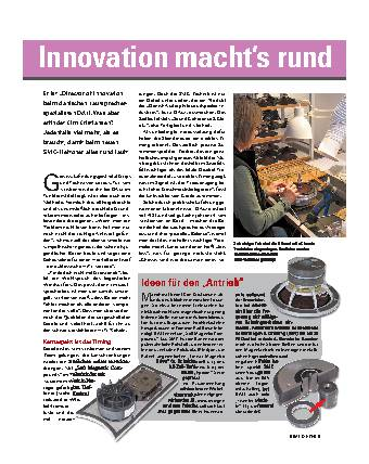 Mr. Innovation macht's rund